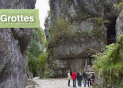 Visite des Grottes de St Christophe moitié prix : 8,5€ pour 2, 16€ pour 4 (visite guidée)