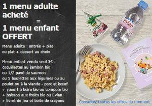 1 menu enfant Ikea gratuit