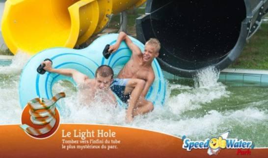 SpeedWater pas cher ! 19,50€ (prix unique) au lieu de 27€ (valable juillet/août)