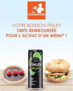 Bon plan La Croissanterie Finley gratuit