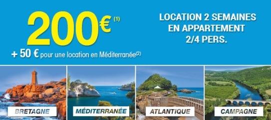 Carrefour Voyages 200€ les 2 semaines
