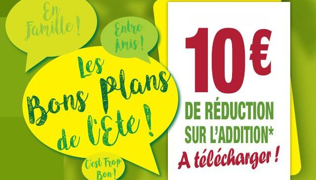 Coupon de reduction La Pataterie : 10 euros