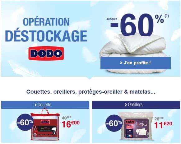 Maison deco archives les bons plans malins - Destockage couette dodo ...