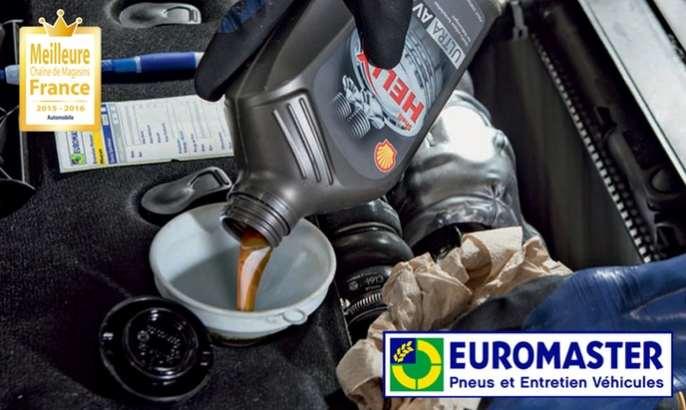 Forfait vidange Euromaster pas cher