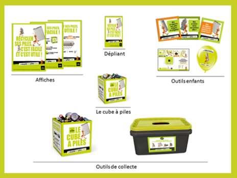 Journée européenne du recyclage des piles