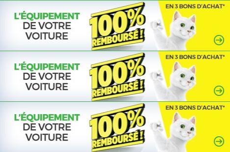 Offre 100% remboursé Feu Vert