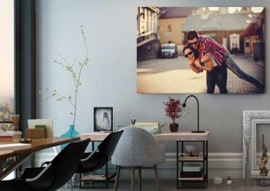 tableau photo sur toile pas cher d s 3 99 au lieu de 29 95. Black Bedroom Furniture Sets. Home Design Ideas