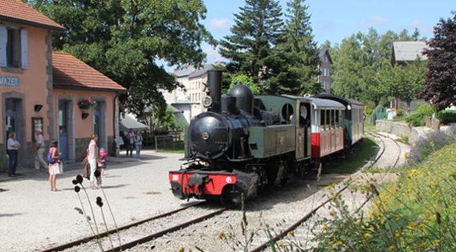 Train à vapeur Velay Express pas cher