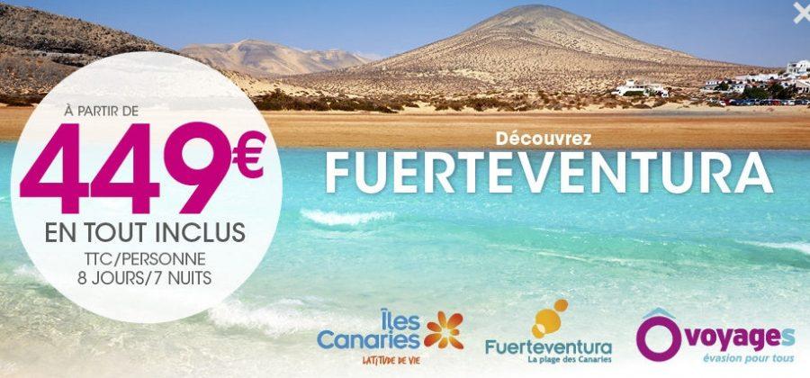 Vente flash Fuerteventura séjour tout inclus