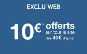 10€ de remise sur La Halle