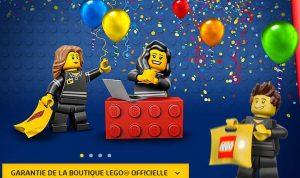 10€ de remise sur Lego Store