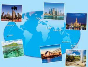 5990€ le tour du monde de 22 jours avec Carrefour Voyages