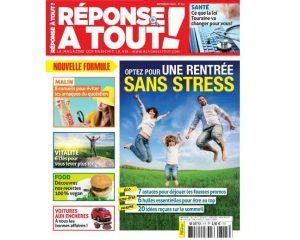 Abonnement magazine Réponse à Tout pas cher