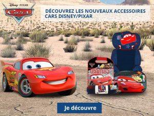 Accessoires auto Cars Disney pas chers
