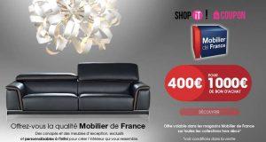 Bon d'achat Mobilier de France