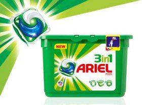 Bon d'achat lessive Ariel Pods