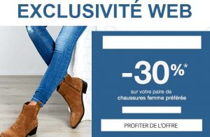 Code promo chaussures femme