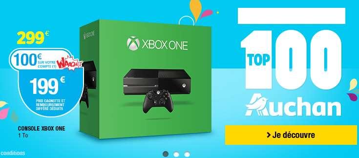 Console Xbox One 1 To + 1 jeu qui revient à 199€