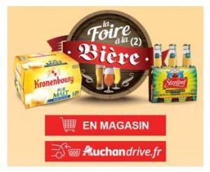 Foire à la Bière Auchan