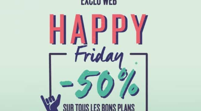 Happy Friday sur les Bons Plans Oxbow