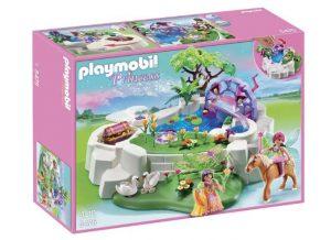 Playmobil Mare de cristal avec fée pas chère