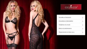 Vente privée CHILI ROSE (lingerie)