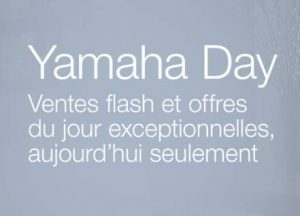 Yamaha Day sur Amazon