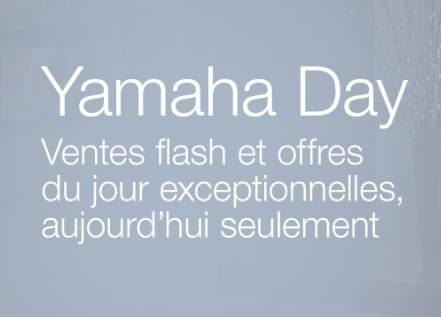 Yamaha Day sur Amazon