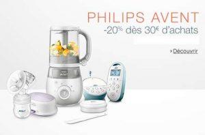 remise sur Philips Avent