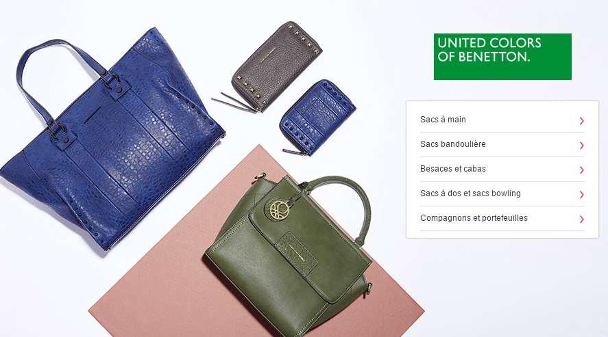 sacs Benetton Vente privée