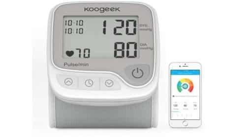 tensiomètre électronique connecté Koogeek