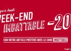 C'est le week-end imbattable Lapeyre : -20% sur l'article de votre choix en ligne ou magasin !