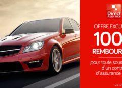 100€ remboursés par Direct Assurance pour toute nouvelle assurance auto 🚗