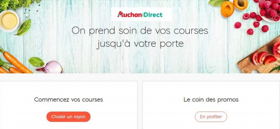 Auchan Direct code promo 10€ de remise