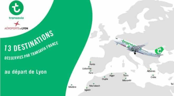 Bon d'achat Transavia LYON