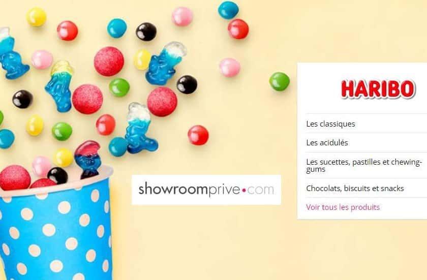 Bonbons Haribo pas chers en vente privée