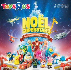 Catalogue Toy's R US de Noël 2016