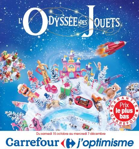 Catalogue des jouets Carrefour pour Noël 2016