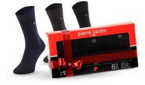 Coffret Noël Pierre Cardin de 12 paires de chaussettes 19,99 €