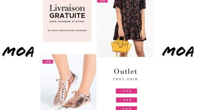 Crazy Shopping MOA livraison gratuite sans minimum