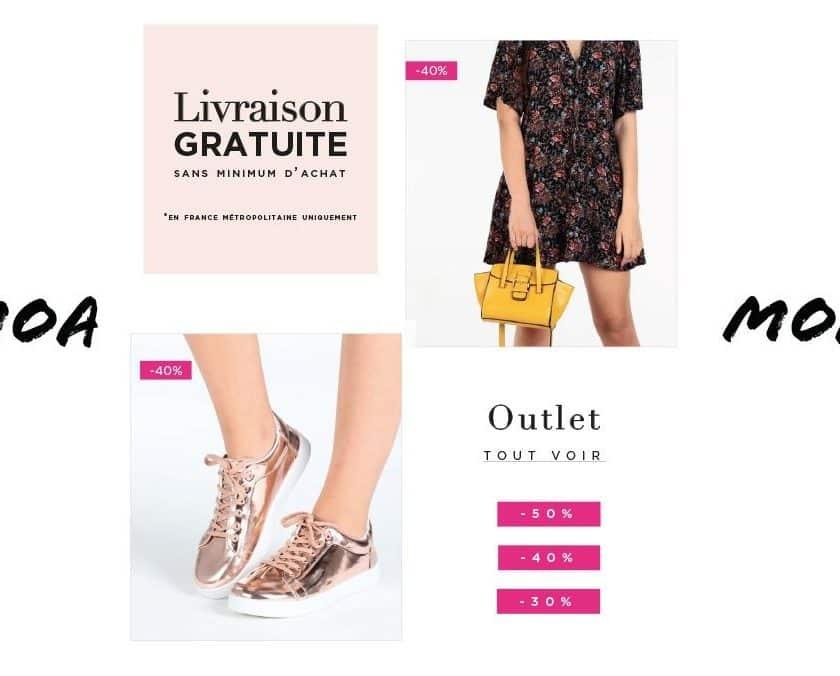 Crazy Shopping MOA livraison gratuite sans minimum