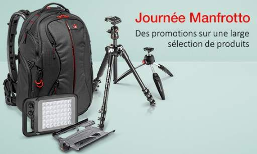 Manfrotto Day sur Amazon