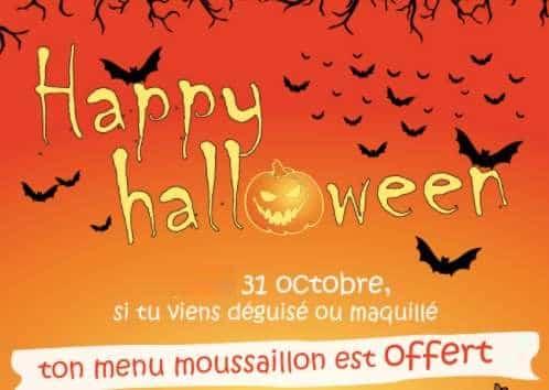 Menu enfant déguisé gratuit pour Halloween
