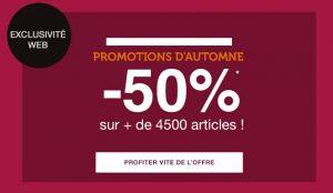 Promotion d'automne La Halle