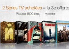 Séries TV : 2 achetées = 1 gratuite (blu-ray et DVD)