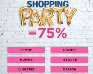 Shopping Party BrandAlley