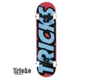Skateboard Tricks Logo à moins de 29€
