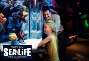 Tarif réduit pour l'aquarium Sea Life Paris - Val d'Europe