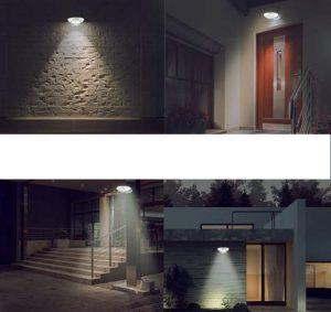 lampe LED extérieur solaire pas chère