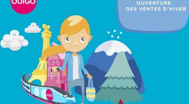 Billets de train OUIGO pas chers : ouverture des ventes d'hiver